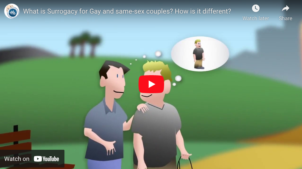What is Surrogacy for Gay and same-sex Couples? YouTube ScreenShot